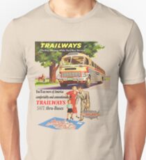 Old Trailways Bus Lines Unisex T-Shirt