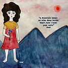 Mountain girl by Nadine Feghaly