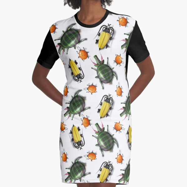 Fun critters Graphic T-Shirt Dress