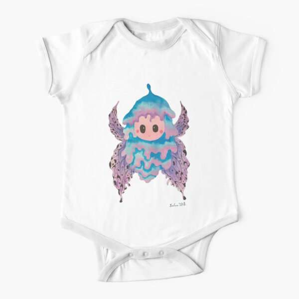 Baby cocoon #2 Chrysalis protect childhood painting  Short Sleeve Baby One-Piece