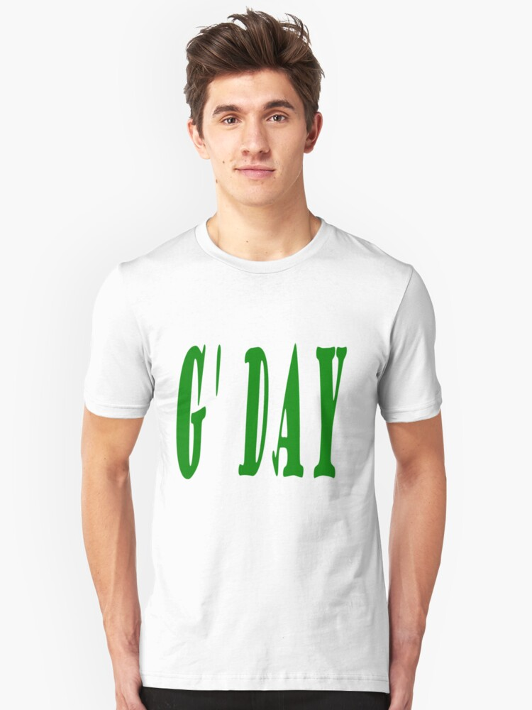 G'Day Unisex T-Shirt Front