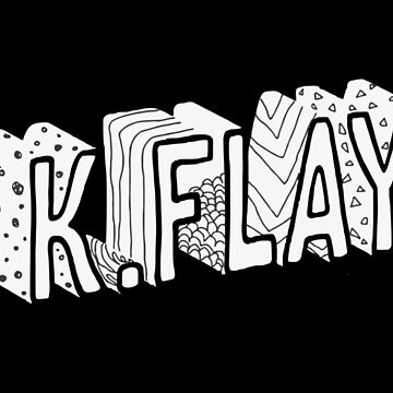K.Flay Just Letters Dark by nathancowle