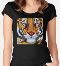 Endangered - Tiger Women's Fitted Scoop T-Shirt