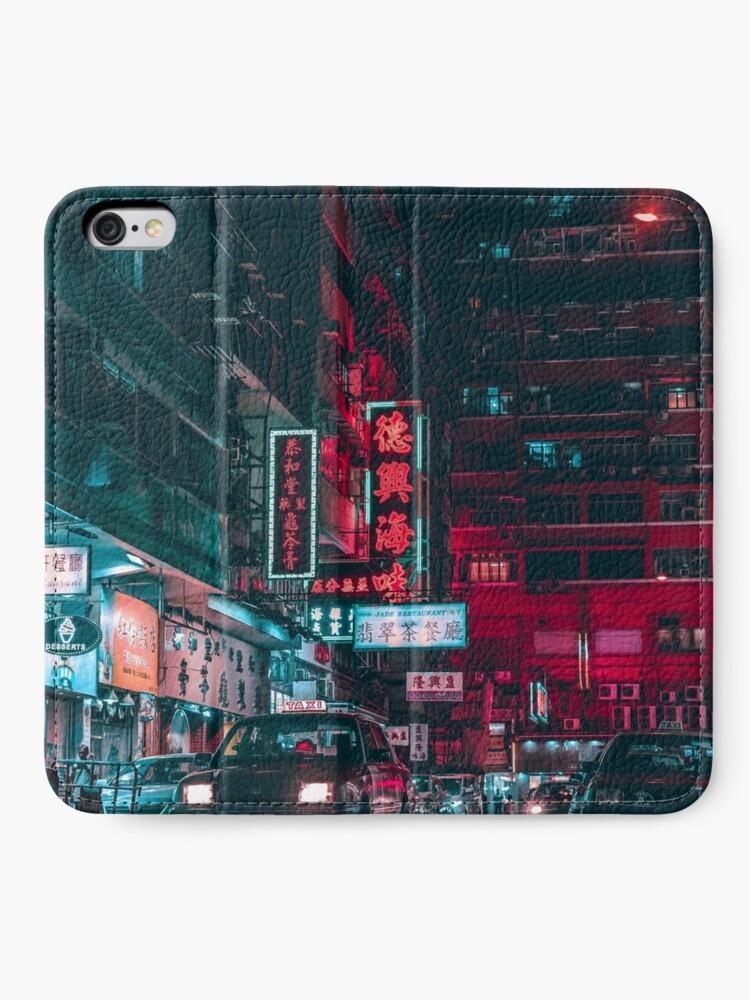 Alternative Ansicht von Tokyo iPhone Flip-Case