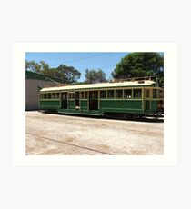 Tram 294 Art Print
