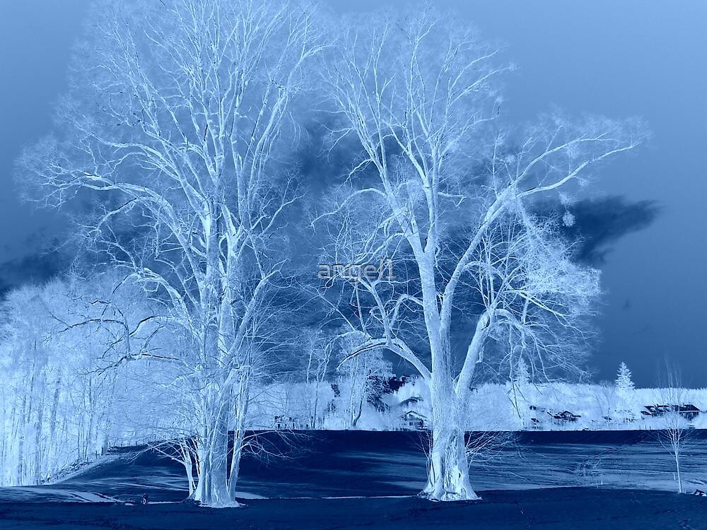 "Blue Tree Inversion featured in ""German Artists"" by ©The Creative  Minds"