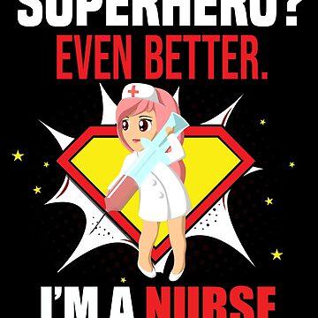 Cute Nurse Tshirt for Registered Nurses and Caretakers Tee by kmpfanworks