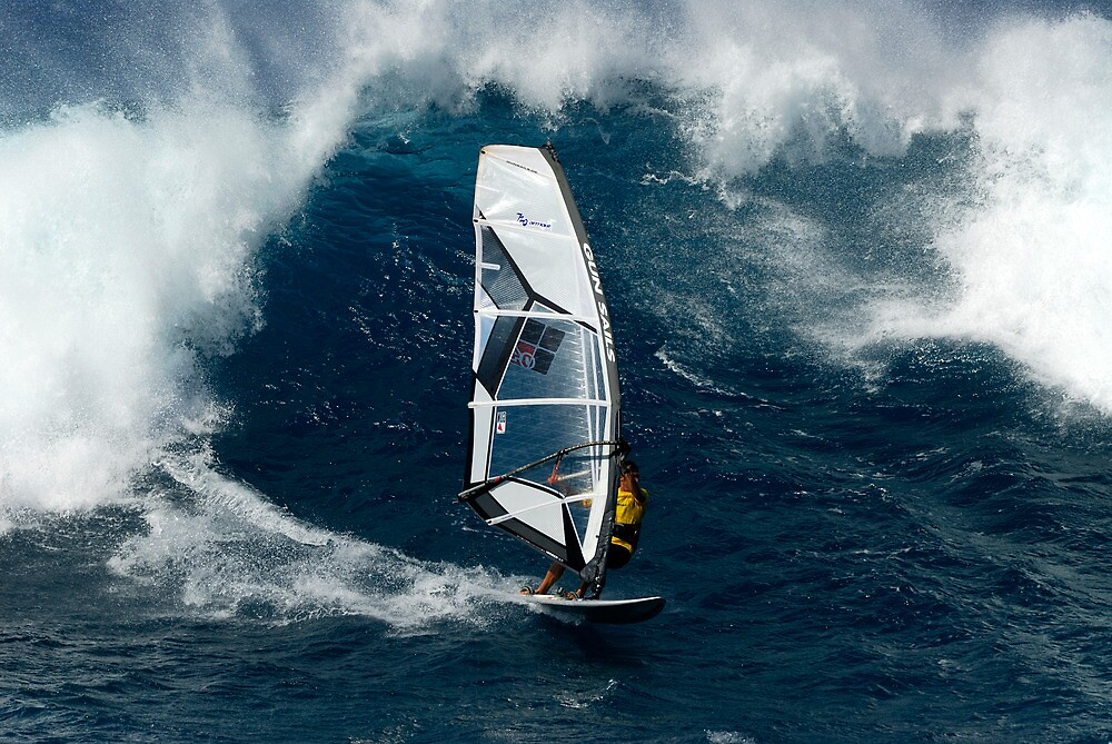 Wavesailing Hawaiian style .... by M-Pics