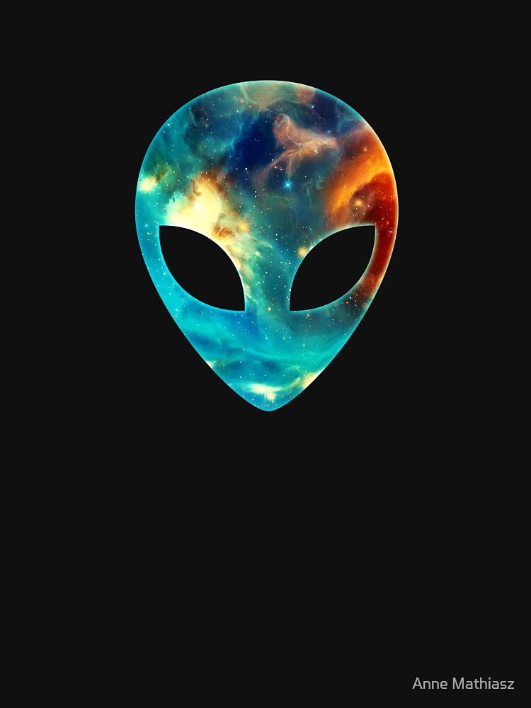 Galaxia alienígena de boom-art