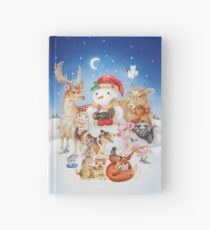 20 Christmas animals by Maria Tiqwah Hardcover Journal