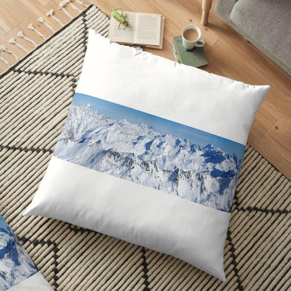 alpes panorama Floor Pillow