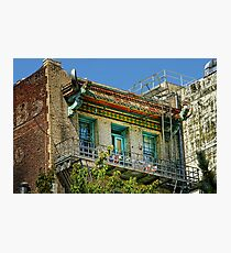 Living High in China Town Photographic Print