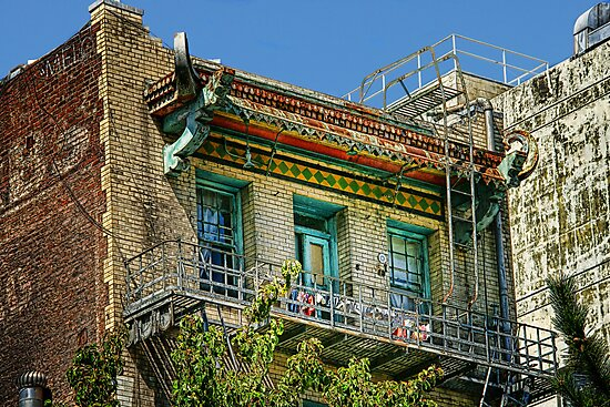 Living High in China Town by pat gamwell