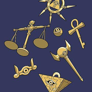 Millennium Items by spyrome876