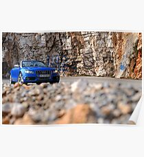 The Audi S5 Cabriolet .... Poster