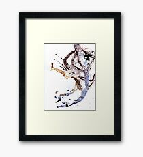Oil and Water #24 Framed Print