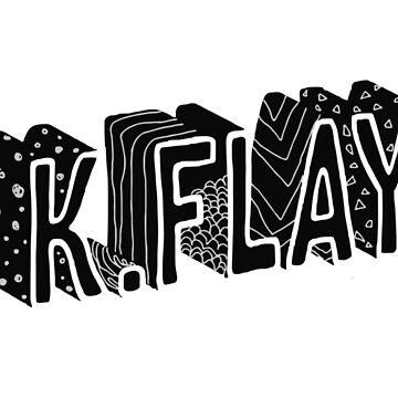 K.Flay Just Letters Light by nathancowle