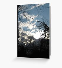 In The Moment Between Thunder and Lightning Greeting Card