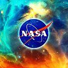 Space Nebula Galaxy Nasa by Anne Mathiasz