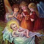 BABY JESUS BIRTH by Tammera