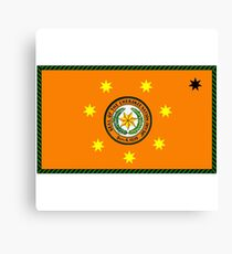 The Cherokee Nation - Flag Canvas Print