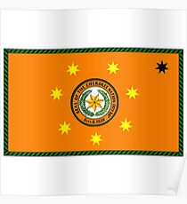 The Cherokee Nation - Flag Poster