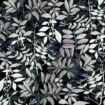 Leaves Nature Pattern at Night by rodrigomff23