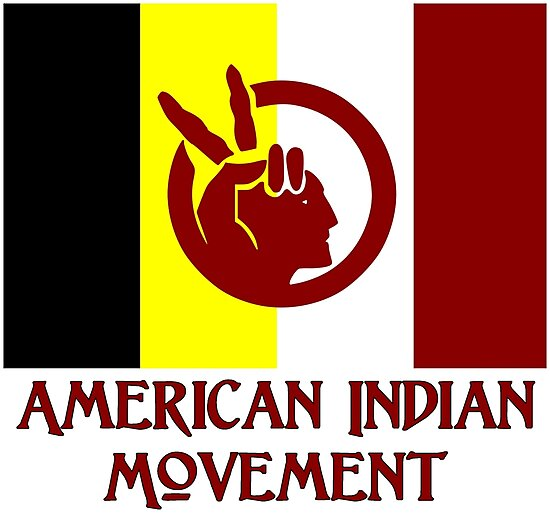 Quot The American Indian Movement Flag Quot Photographic Prints