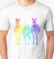 Rainbow Zebras T-Shirt