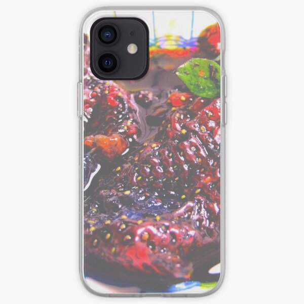 Strawberry Jam iPhone Soft Case