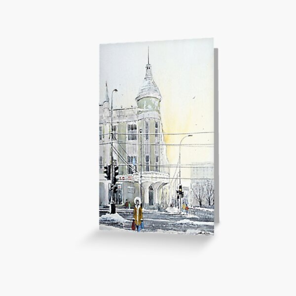 Krasnodar Winter Greeting Card