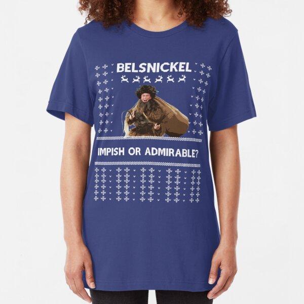 Impish or Admirable Slim Fit T-Shirt