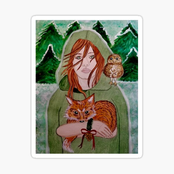 Guardian of Yulewood Forest Sticker