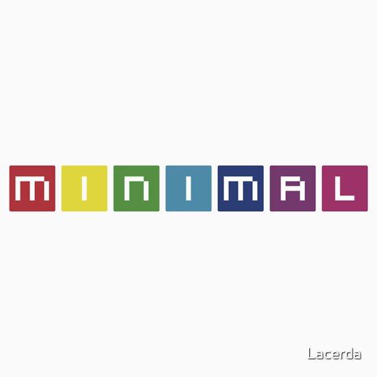 TShirtGifter presents: Minimal