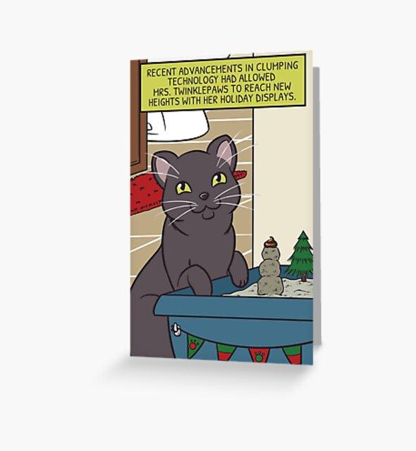 Mrs. Twinklepaws' Holiday Display by wanderingkotka