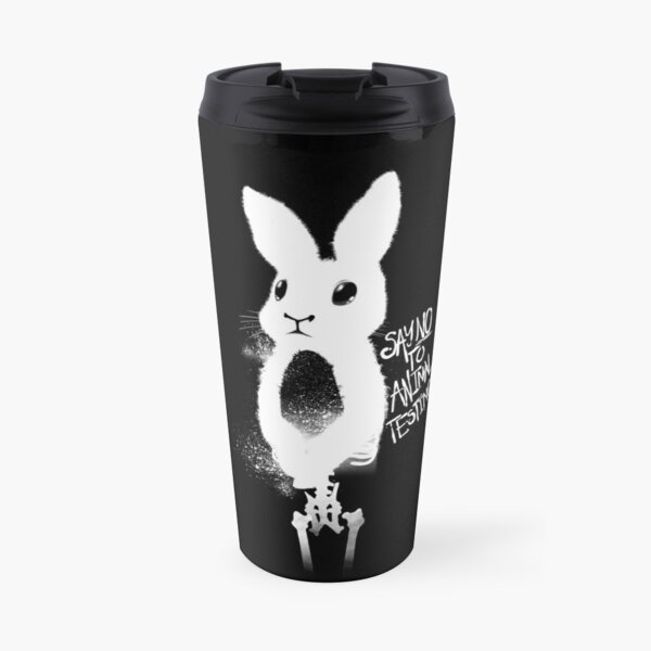 Say No To Animal Testing  Travel Mug