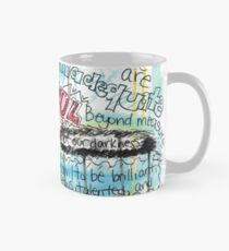 "Marianne Williamson Quote - ""Our deepest fear is not that we are inadequate"" Mug"