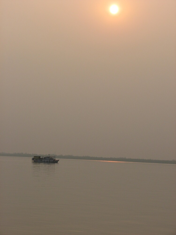 sunset in the sunderbans by jack robinson