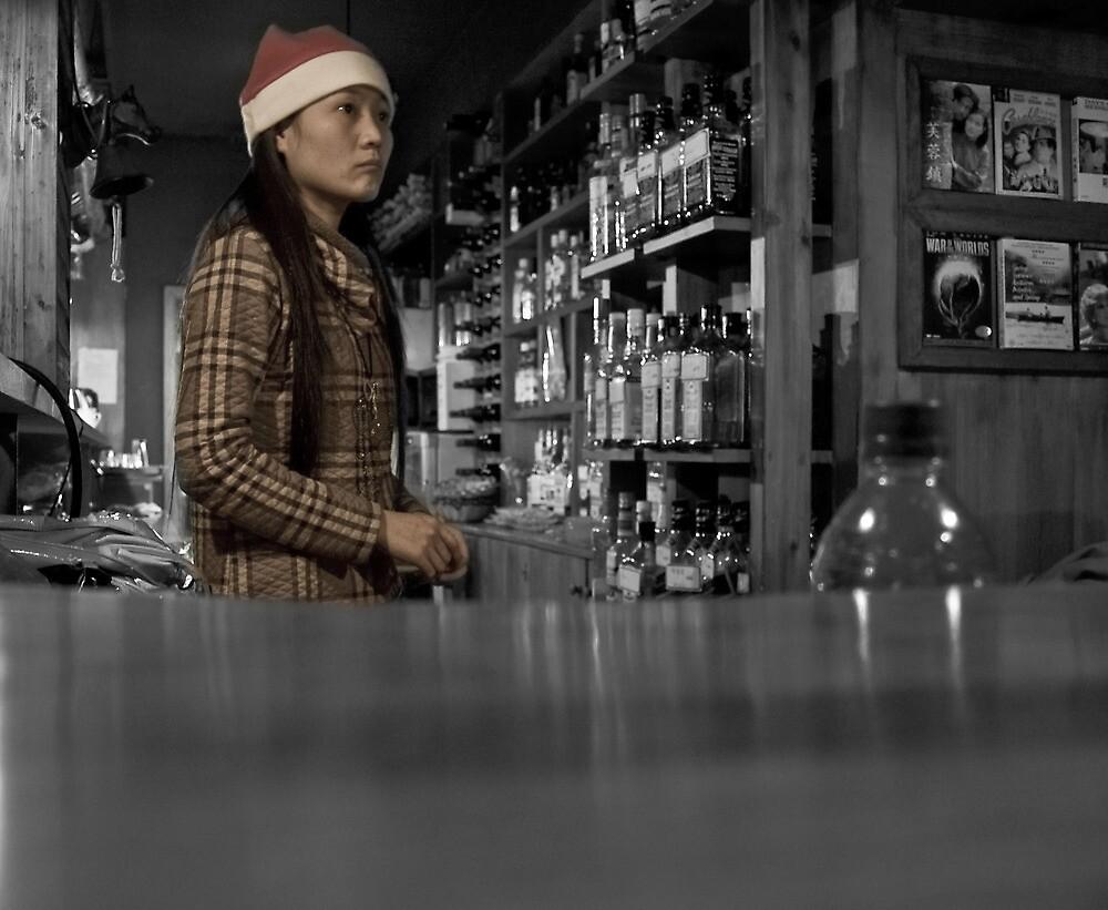 xmas at a bar by marcwellman2000