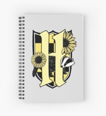 Honey Badger Crest (Color Icon Only) Spiral Notebook