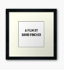 david fincher Framed Print