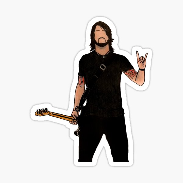 Autocollant Dave Grohl Sticker