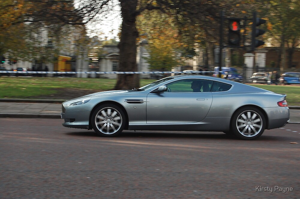 Aston Martin DB9 - The Streets of London by Kirsty Payne