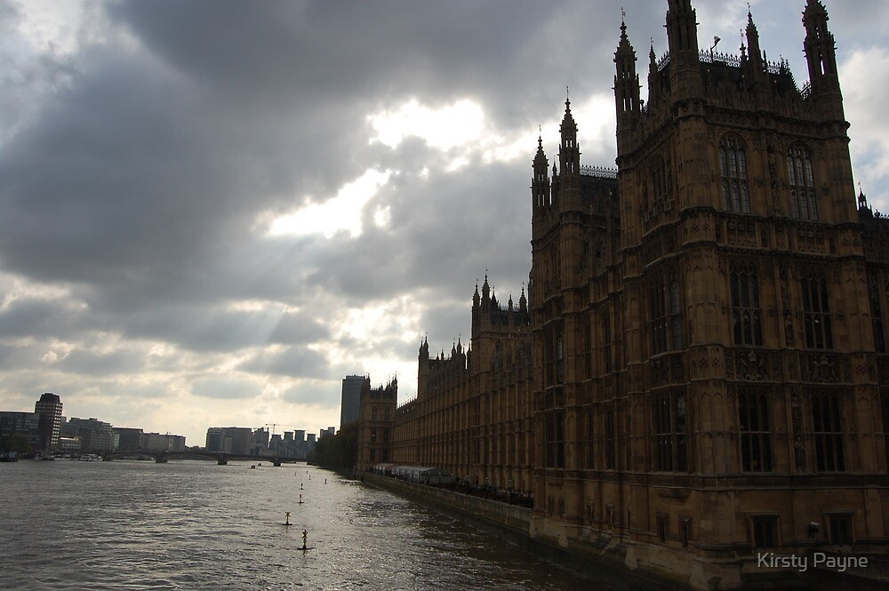 Houses of Parliment - London by Kirsty Payne