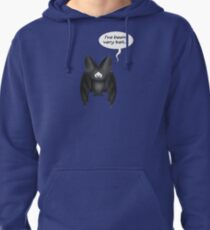 Confessions of a bad bat Pullover Hoodie