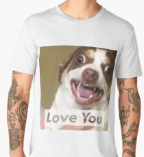 Mr Bubbs Loves You! Men's Premium T-Shirt