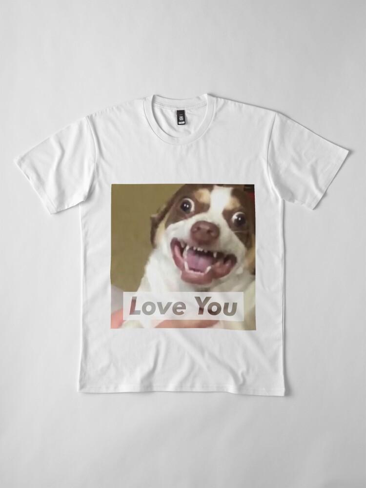 Alternative Ansicht von Herr Bubbs liebt dich! Premium T-Shirt