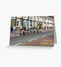 London Marthon 2009 Greeting Card