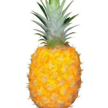Beach Food Vegan Desert Tasty Natural Vegetarian  Pineapple by rubina