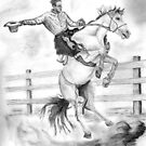 Riding a Flying Horse by Russ Smith